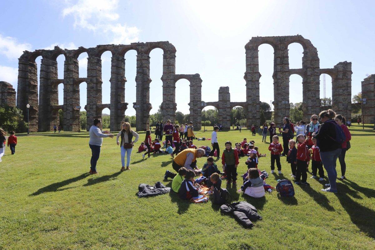 Habrá actividades online para escolares con motivo de la reapertura de la Casa Anfiteatro de Mérida