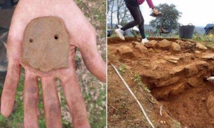 Los trabajos en el poblado de Castillejo de Villasbuenas de Gata muestras restos de la Edad del Cobre