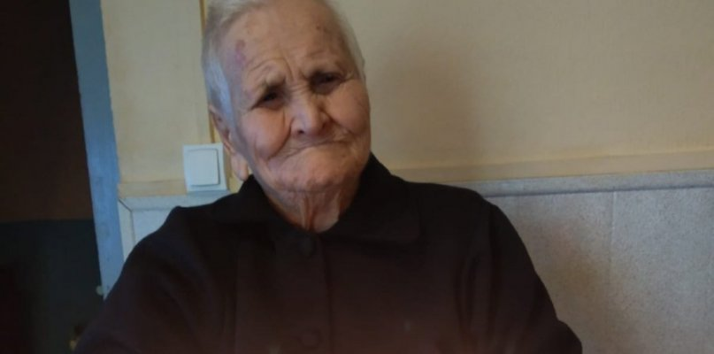 Fecilitas Alba Paule, la anciana de Aceituna que celebra sus 107 años