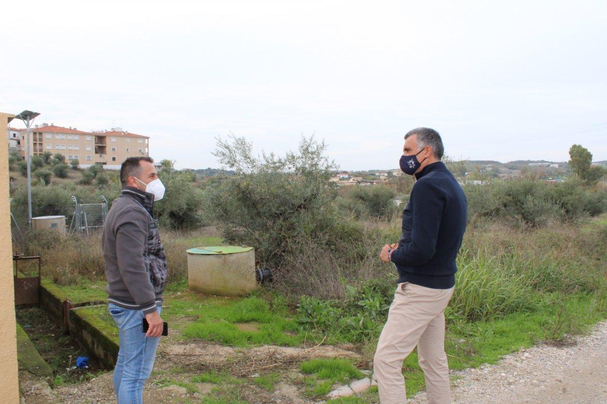 Coria pide que el Plan Activa de Diputación se destine a la ampliación del cementerio