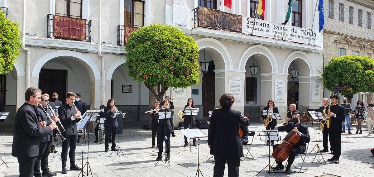Los conciertos 'Compartimos Templo' en Mérida tendrán mochilas vibradoras para personas sordas