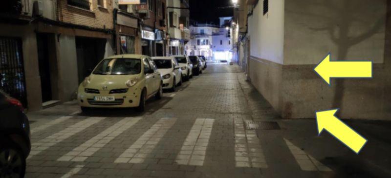 El Ayuntamiento de Coria instalará señalización vertical y reductores de velocidad en la calle Parras