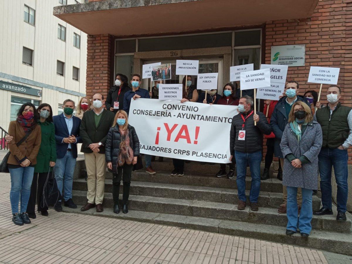 El PP alza la voz a favor de los trabajadores del Centro de Rehabilitación Psicosocial de Plasencia