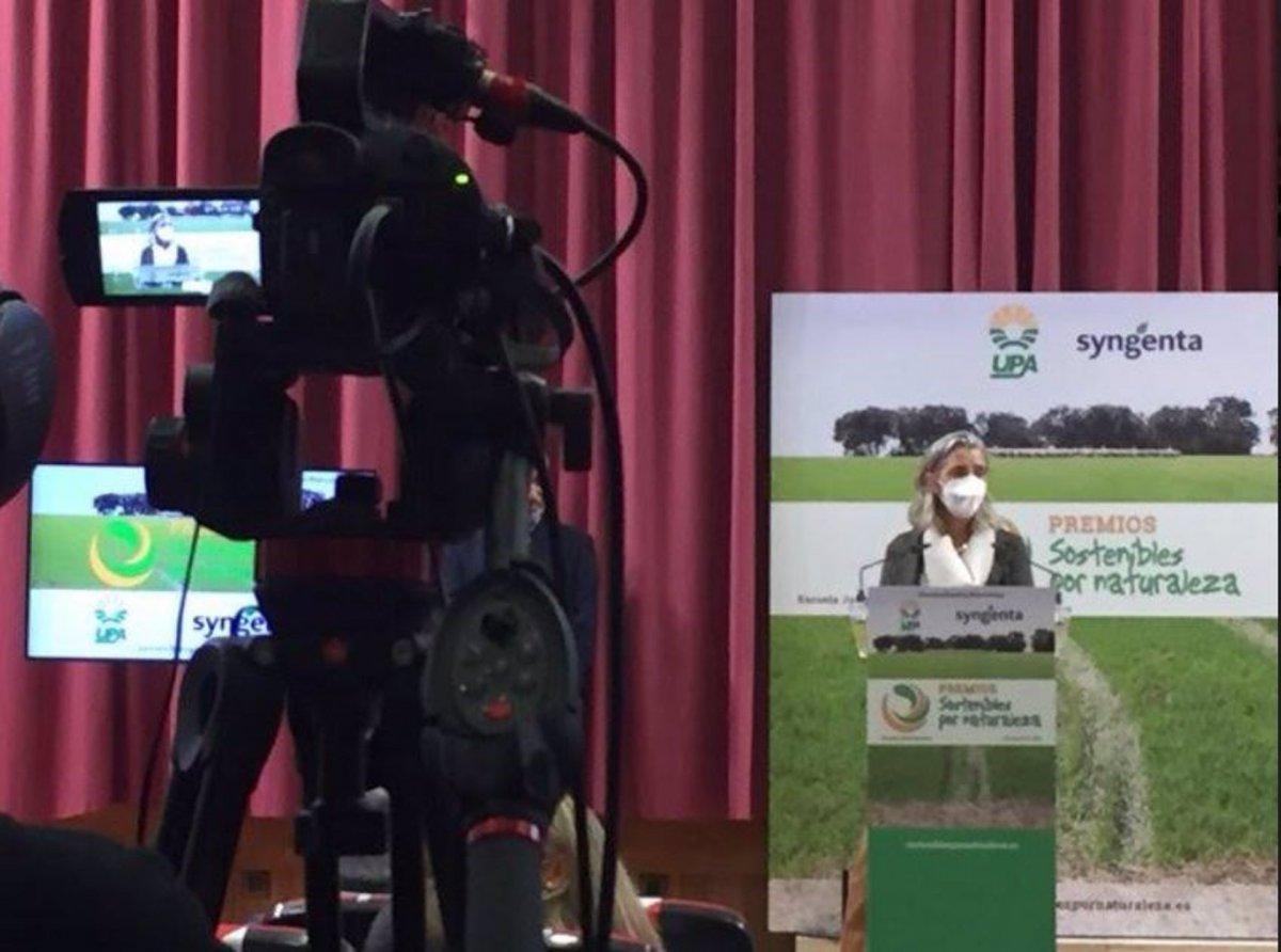 """Una ganadera extremeña es reconocida como """"ejemplar"""" por los premios Sostenibles por Naturaleza"""