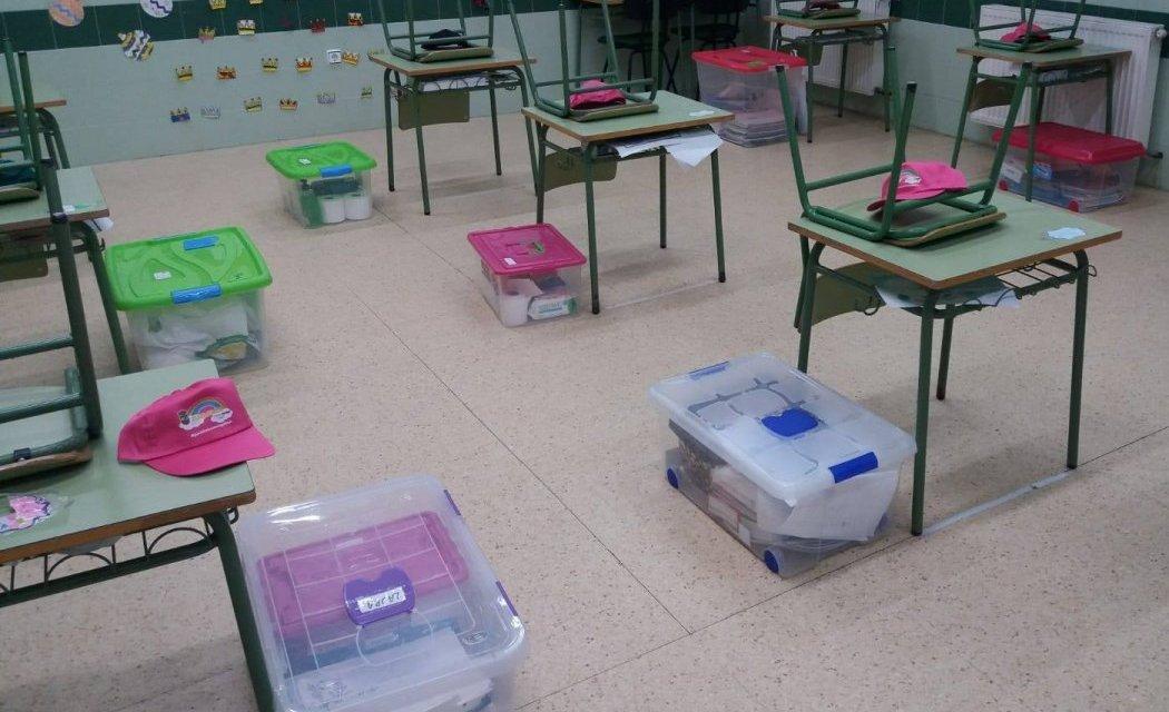 Educación cierra un aula del CEIP La Paz de Plasencia tras dar positivo uno de los escolares