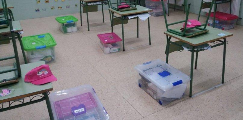Preocupación en Zurbarán por el brote escolar que tiene en cuarentena a 25 personas