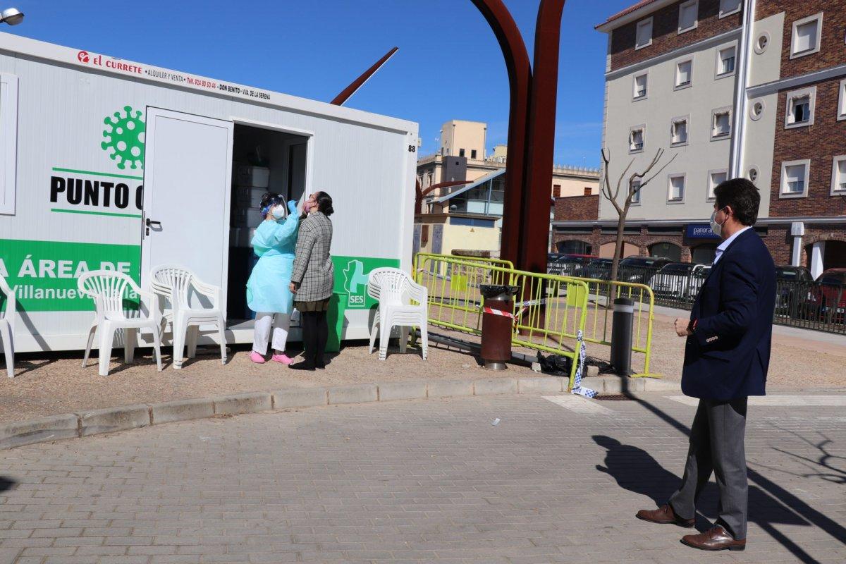 La Junta cierra perimetralmente Monesterio y Bienvenida por la alta incidencia de Covid