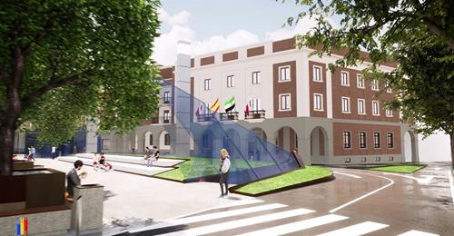 Don Benito da luz verde al proyecto de mejora de la Plaza de España que incluirá un párking