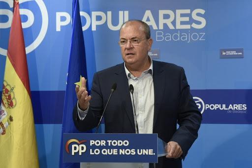 El PP critica que Plus Ultra reciba 53 millones de euros mientras que a Extremadura sólo llegarán 106