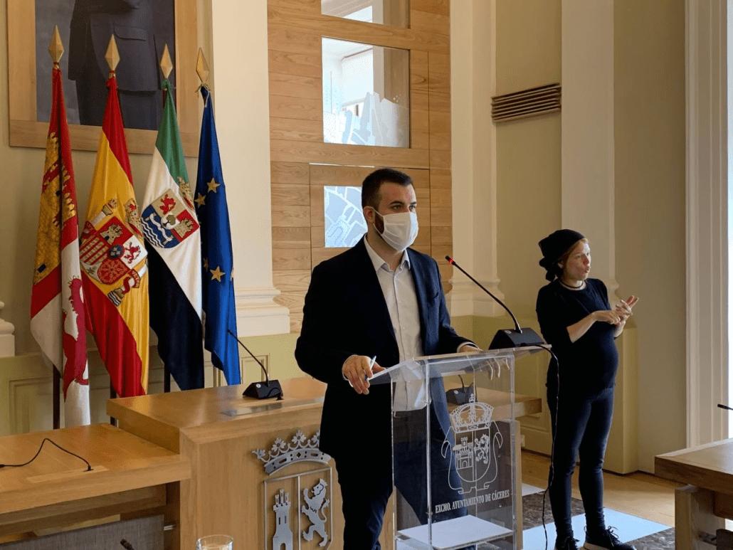 Cáceres invertirá más de 2,5 millones de euros para mejorar el servicio público de agua