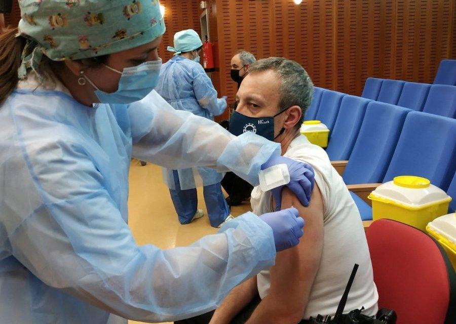 El área de Coria ha administrado 15.104 dosis de vacuna frente a la Covid desde el inicio de  la campaña
