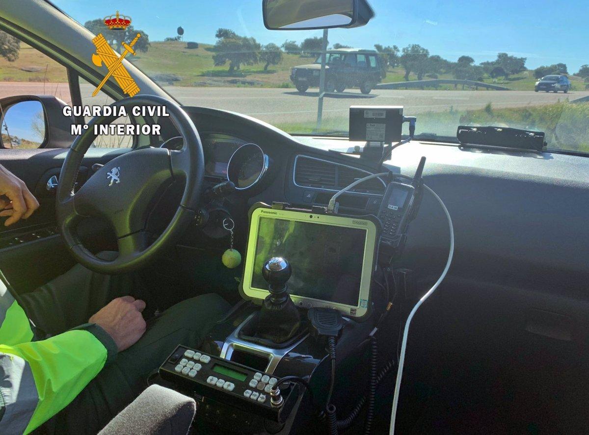 Investigado por conducir a 211 kilómetros por la A-66 en Villafranca de los Barros