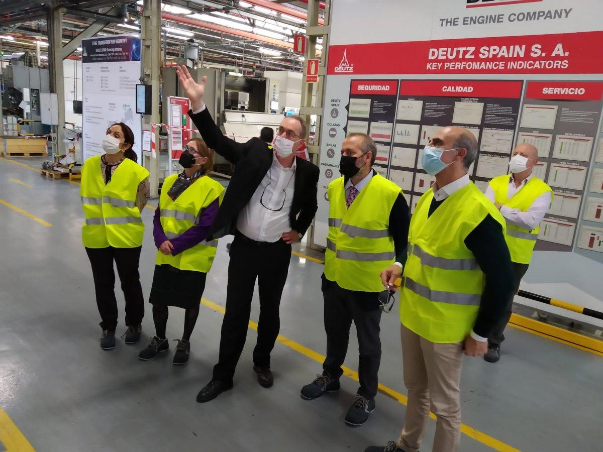 El centro logístico de Deutz Spain comenzará a funcionar en septiembre en Zafra