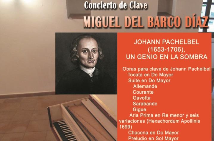 Cáceres acoge este viernes un concierto de Miguel del Barco con un clavecín que forma parte de una exposición