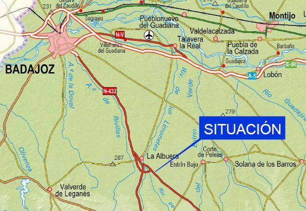 El Ministerio aprueba provisionalmente el proyecto para la mejora de la intersección de la carretera N-432 en La Albuera