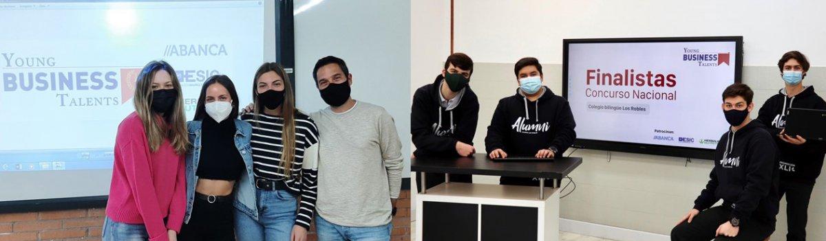 Estudiantes de Cáceres, Villanueva y Badajoz aspiran a convertirse en los mejores empresarios virtuales de España