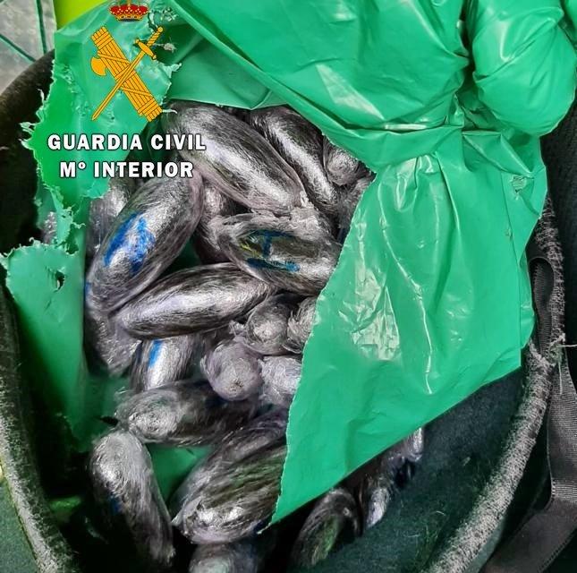 Detenido en Mérida un traficante gallego que se dio a la fuga con casi un kilo de droga