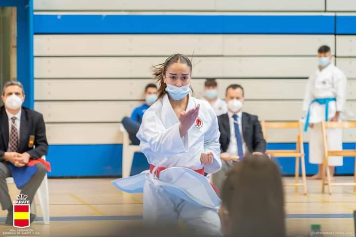 La karateca Paola García gana el oro de la Copa de España por estilos