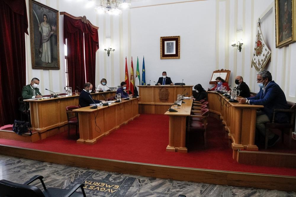 Mérida aprueba en pleno el presupuesto para 2021 que asciende a casi 53 millones de euros