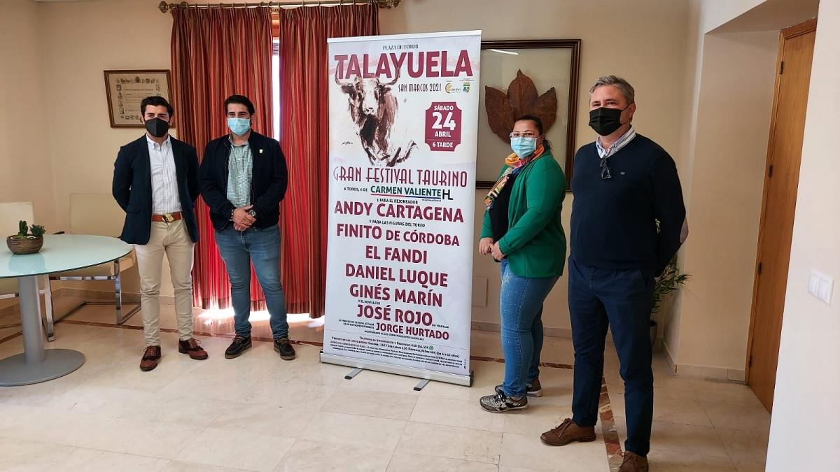 Talayuela acogerá un festival taurino con picadores el 24 de abril, víspera de San Marcos