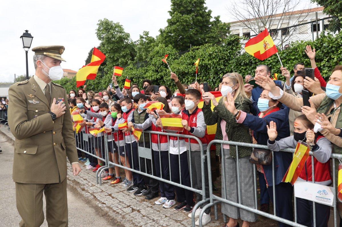 Las mejores imágenes de la visita del Rey de España a Valencia de Alcántara