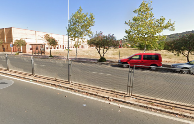Evacuado un hombre de 73 años al Hospital Universitario de Cáceres tras ser atropellado