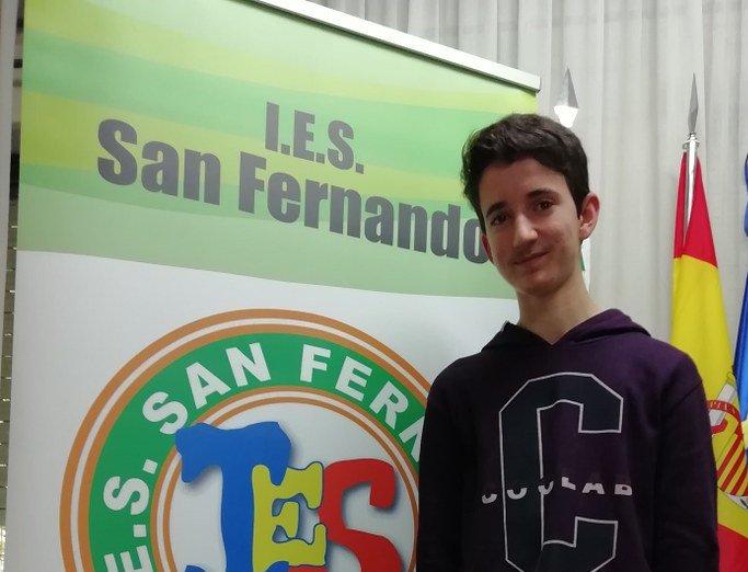 El pacense Carlos Alarcón Sánchez gana el  XV Concurso Regional de Ortografía