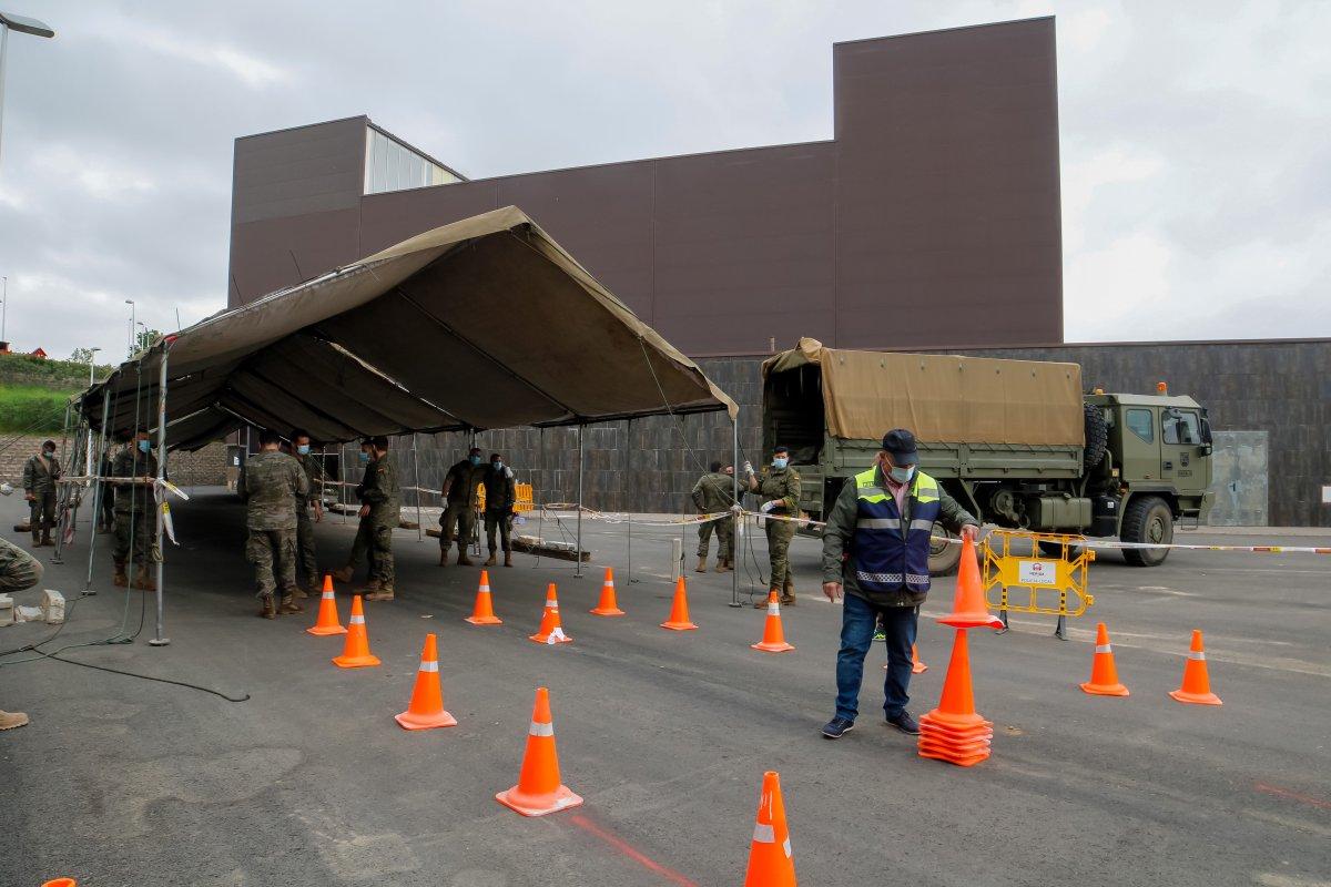 Mérida pide ayuda al Ejército para mejorar las condiciones de espera de los pacientes que se vayan a vacunar