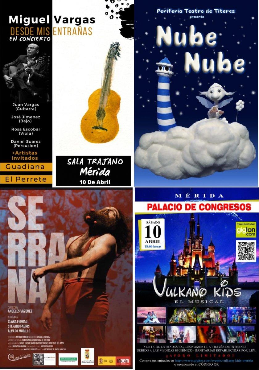 Cine, teatro y espectáculos en la agenda de ocio y cultura para el fin de semana