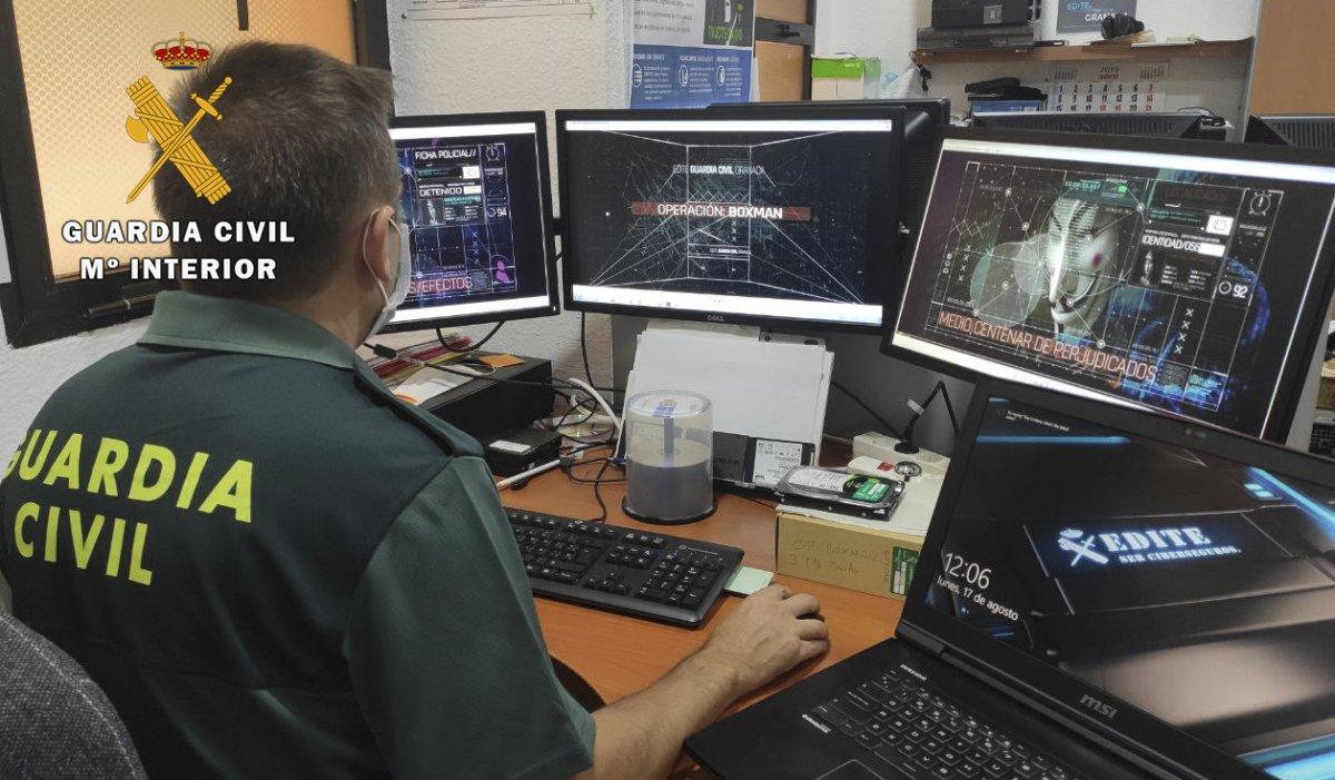 La Guardia Civil de Coria alerta de una estafa en internet relacionada con préstamos rápidos
