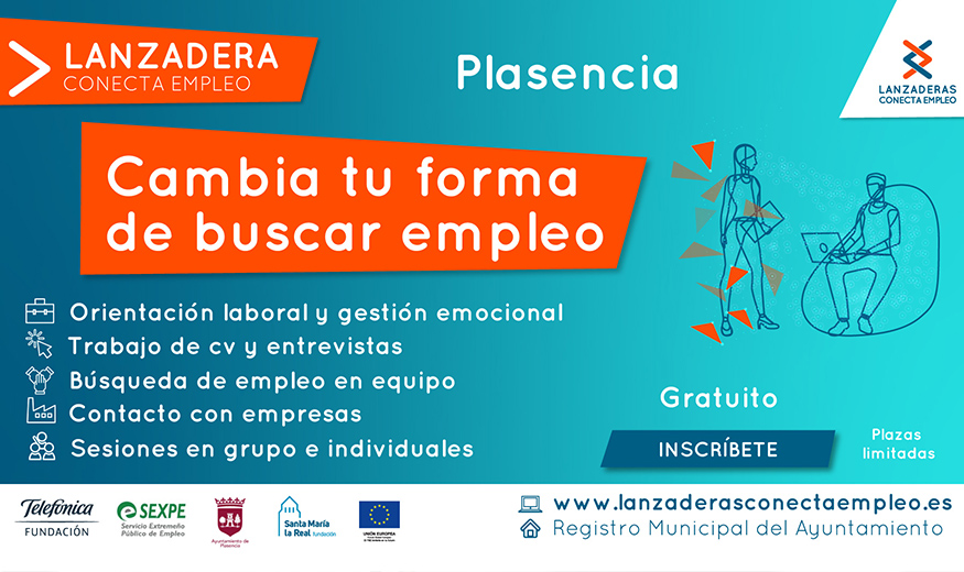 Los parados de Plasencia tendrán a partir de junio una nueva herramienta para encontrar trabajo