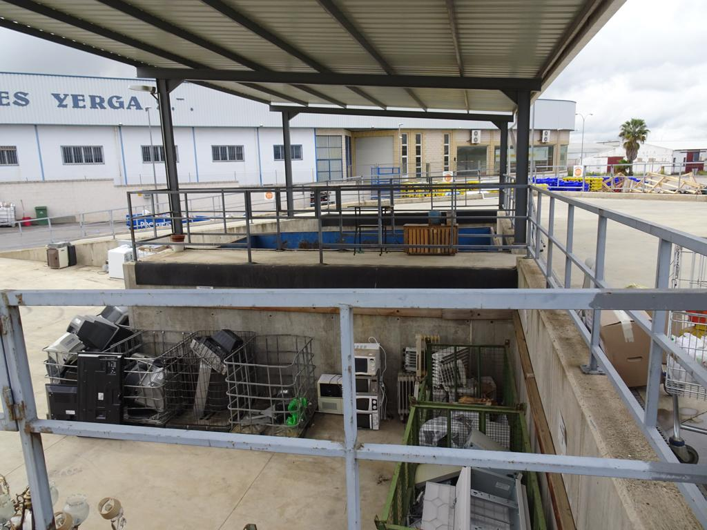 El punto limpio de Zafra recibe más de 76.100 kilos de restos de enseres y muebles