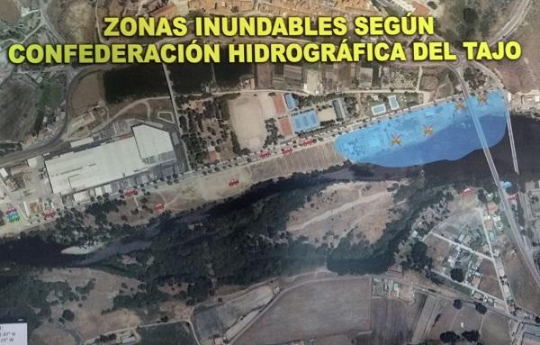 El TSJ de Madrid desestima el recurso presentado para instalar un bar desmontable junto al río Alagón de Coria