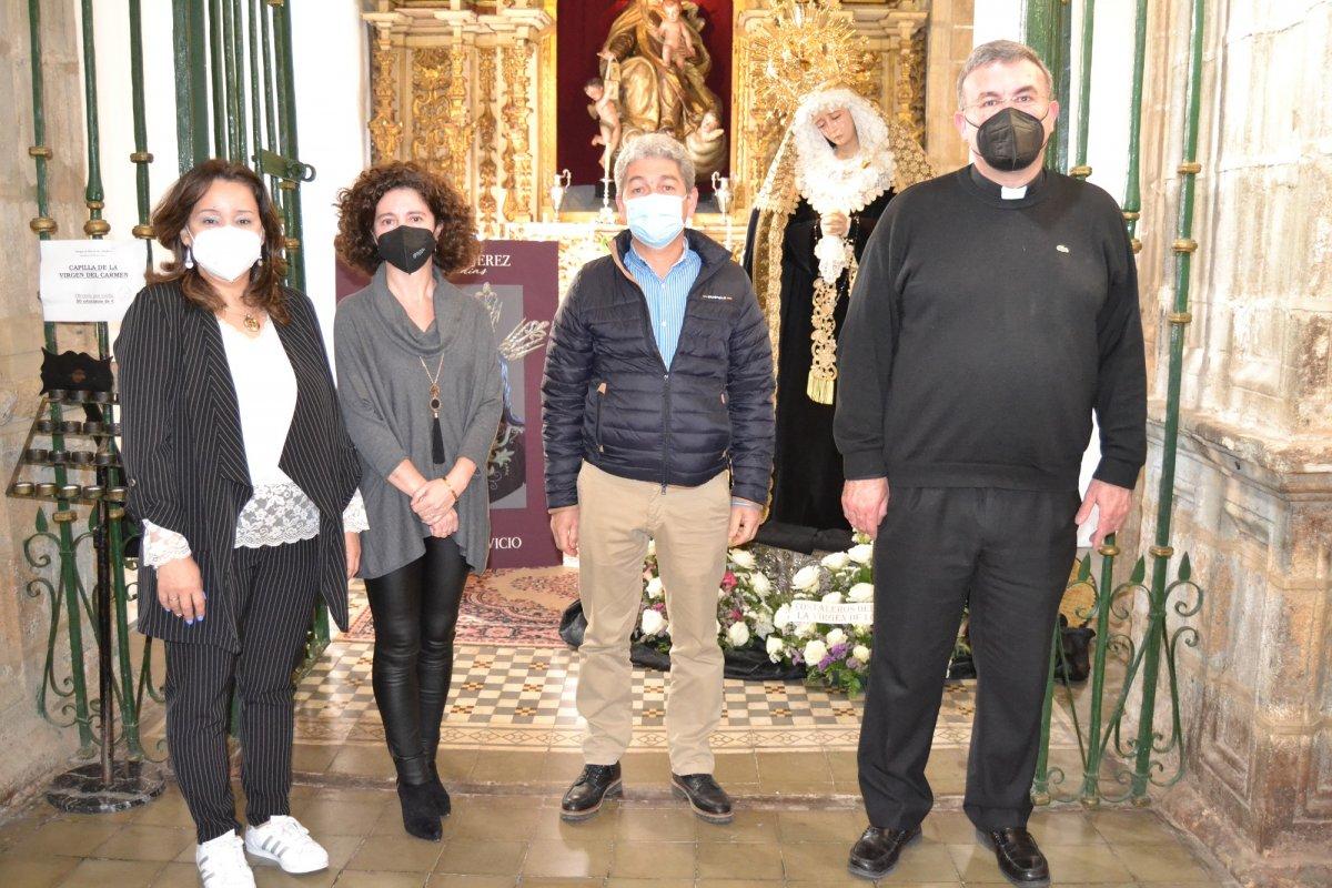 Éxito de acogida en Semana Santa de la exposición 'Una Joya en Jerez. Sus Cofradías'