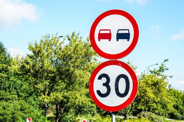 Conoce los nuevos límites de velocidad que entran en vigor este martes