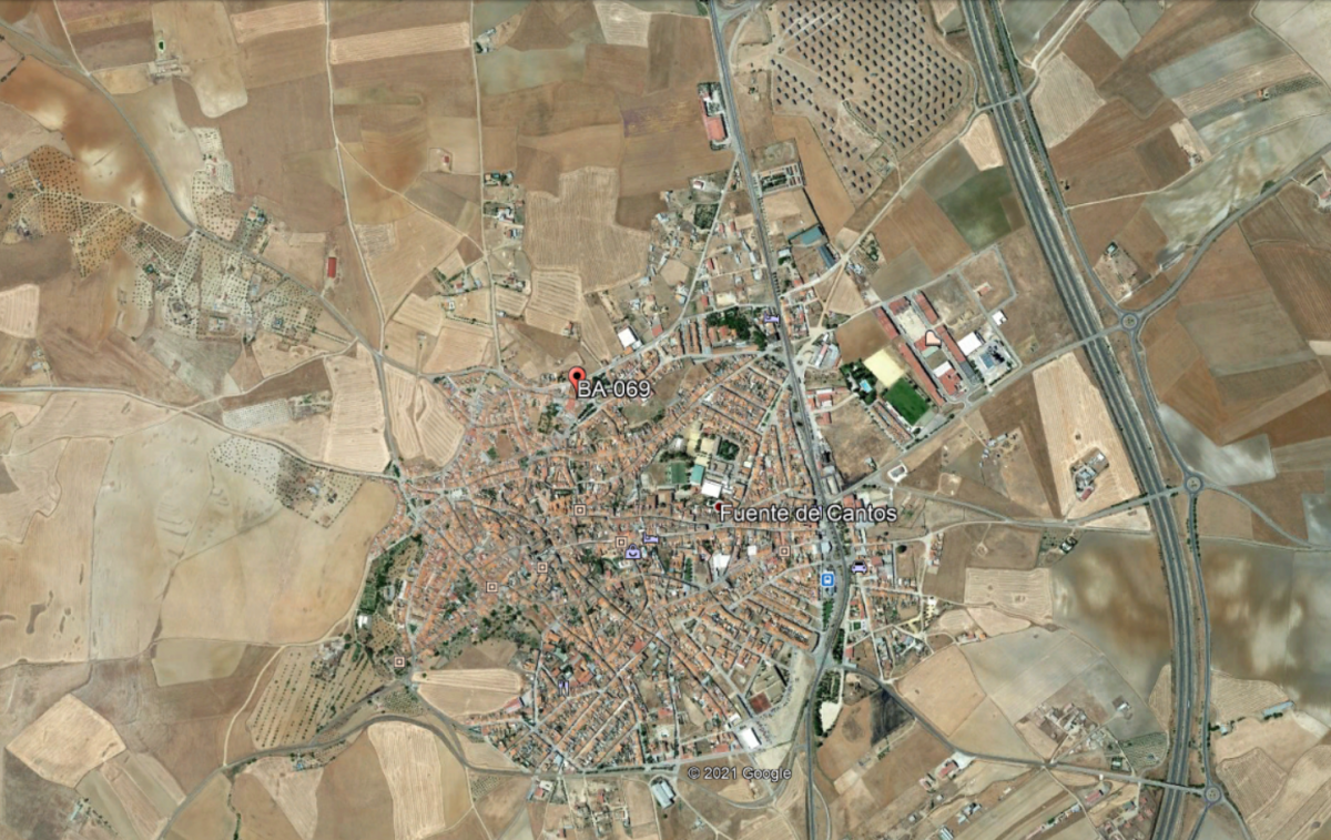 Muere un hombre de 79 años en Fuente de Cantos al quedar atrapado en la rueda trasera de un tractor