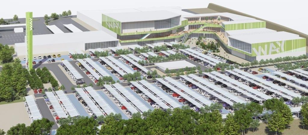 Avanzan los trámites para que arranquen los trabajos del parque comercial Way Cáceres