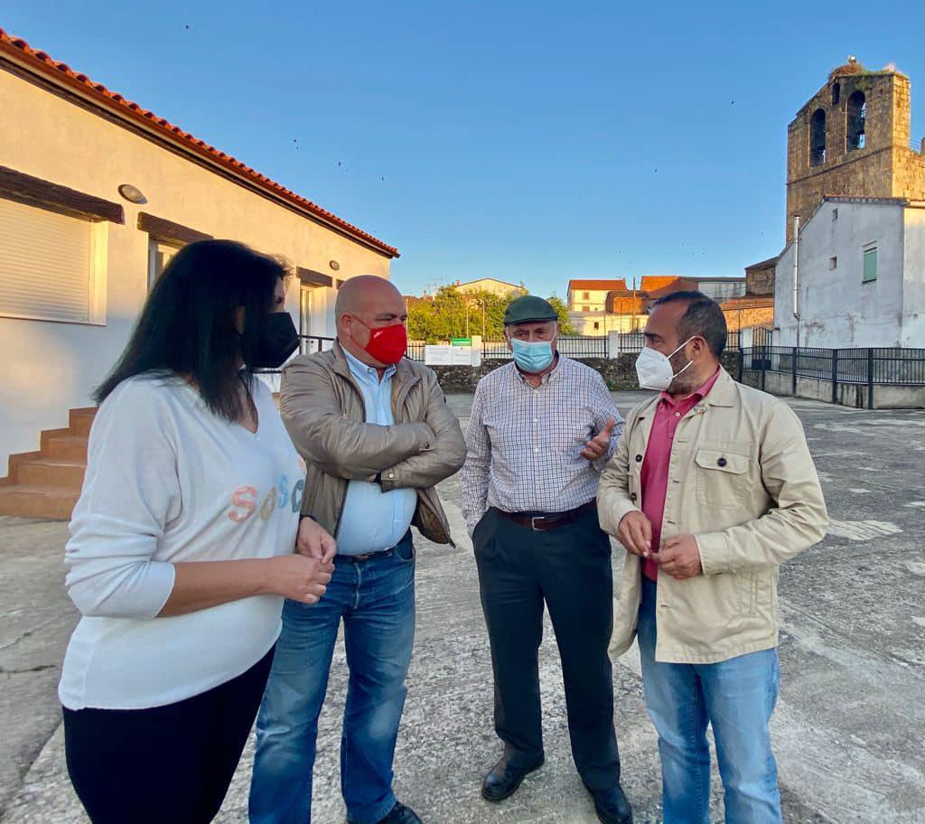 El PSOE crea la nueva agrupación de Santa Cruz de Paniagua con Francisco García Blázquez a la cabeza