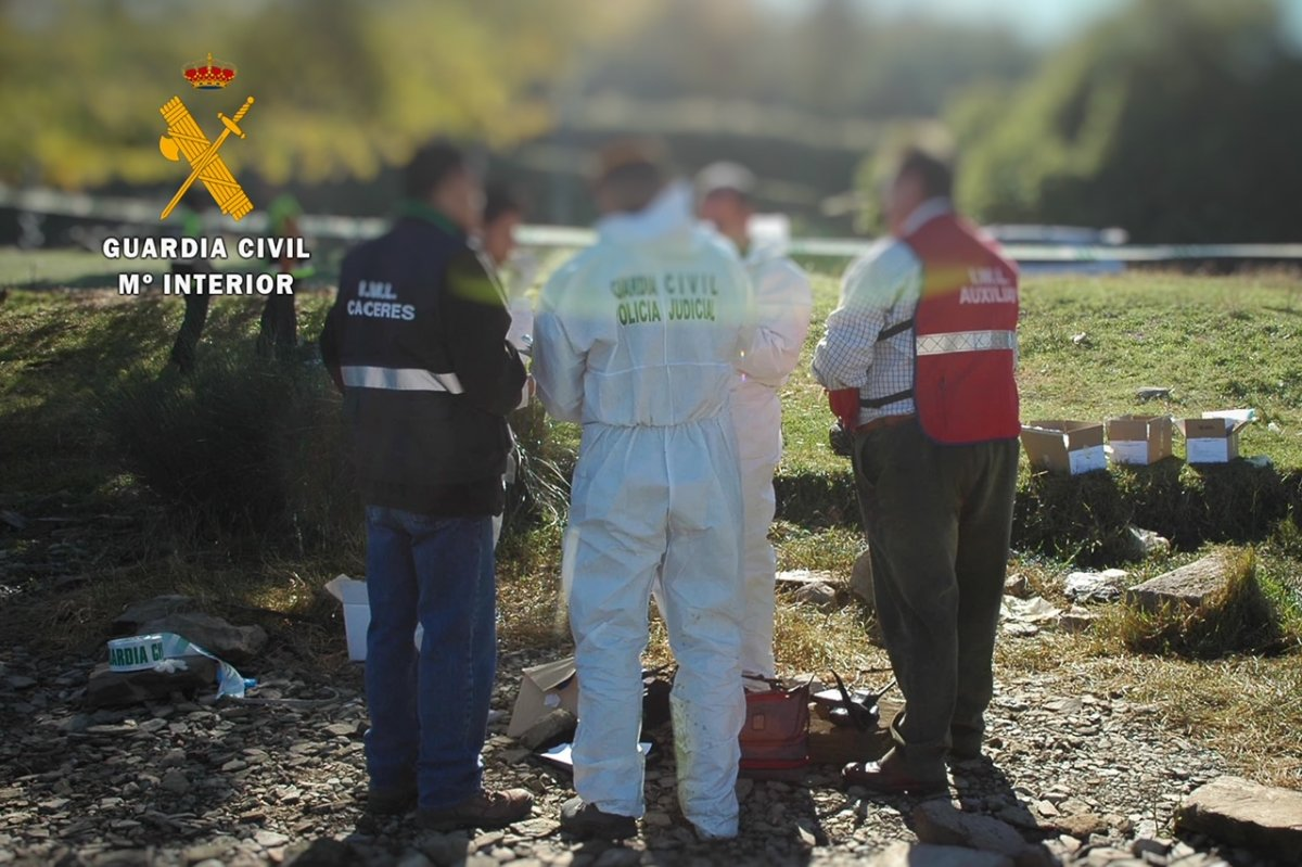 Identifican en Valencia de Alcántara los restos de una mujer portuguesa desaparecida en 2018