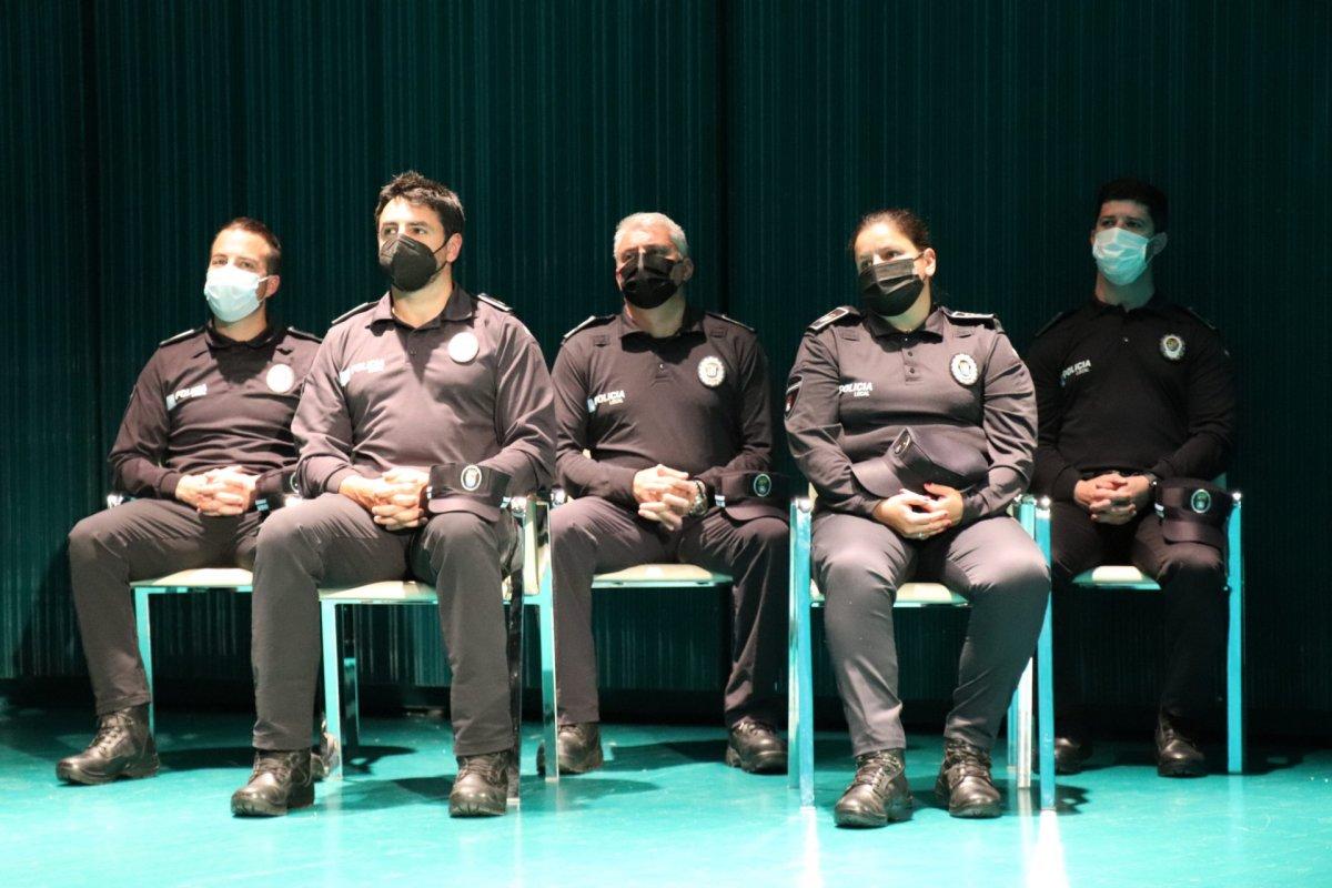 Diez agentes de Policía Local de Villanueva de la Serena toman posesión de sus puestos