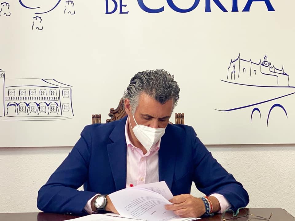 """Ballestero: """"Una nefasta gestión de la Junta está provocando una situación inaguantable para Coria"""""""