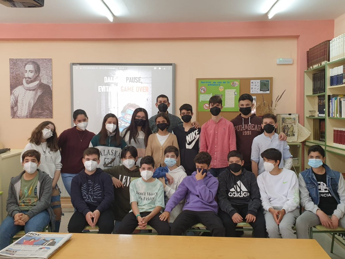 Estudiantes de Almendralejo se proclaman ganadores de un concurso de la ONCE