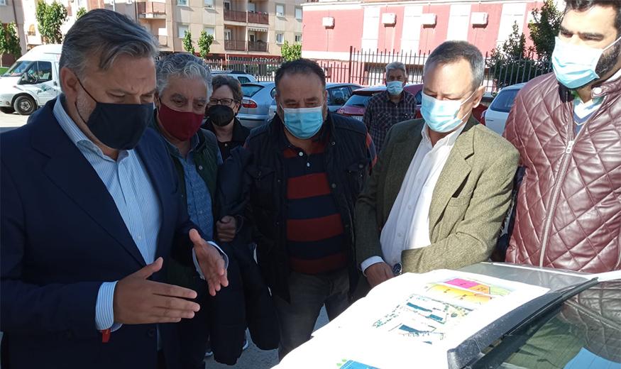 Las obras de la travesía de la avenida de Extremadura de Plasencia comenzarán antes de que acabe el año