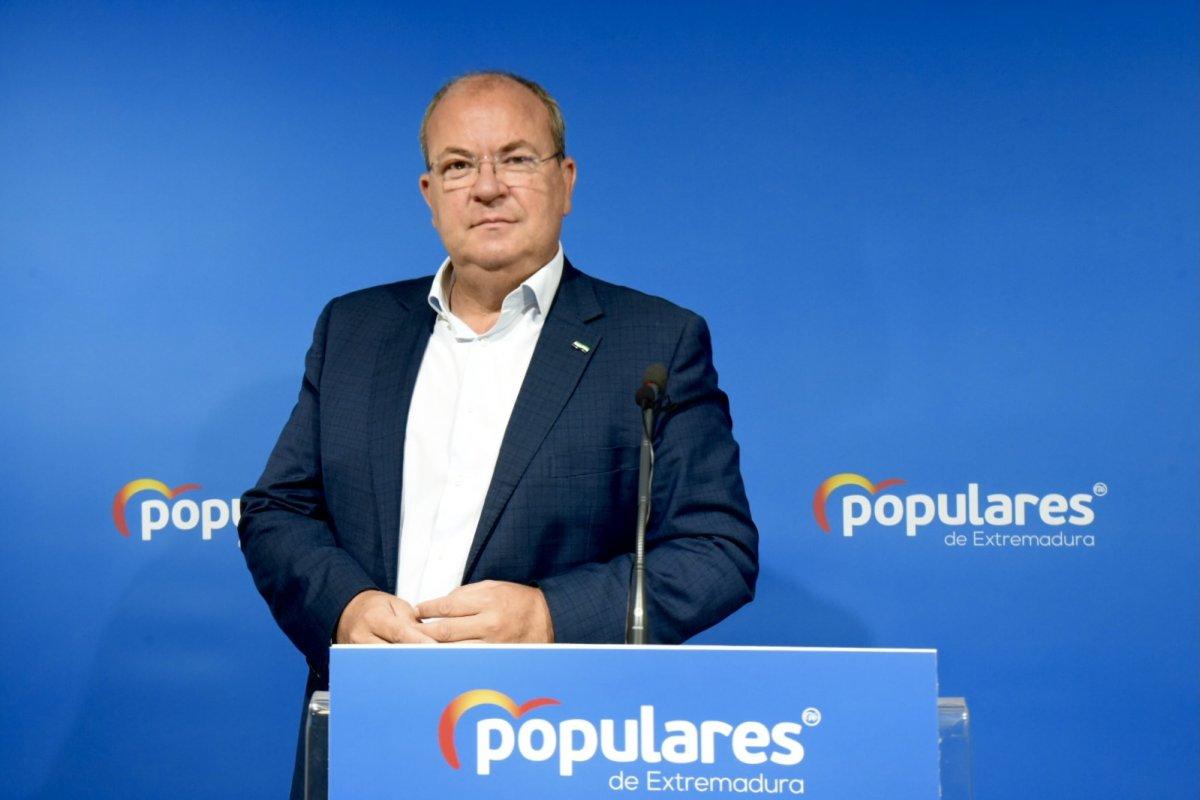 Monago pide a Vara que busque aliados para luchar contra la despoblación en Extremadura