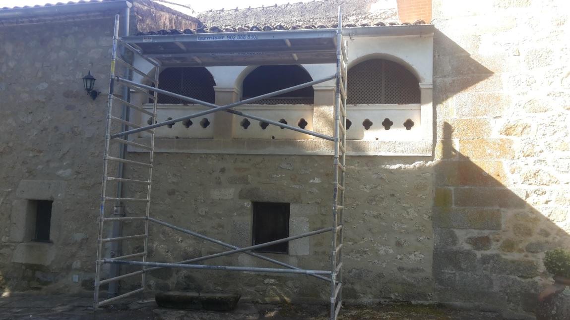 Comienzan las obras de conservación del convento cacereño de El Palancar