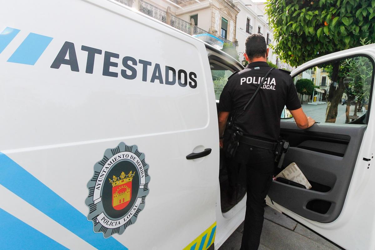 La Policía Local de Mérida reinicia los controles nocturnos de alcoholemia tras el fin del toque de queda