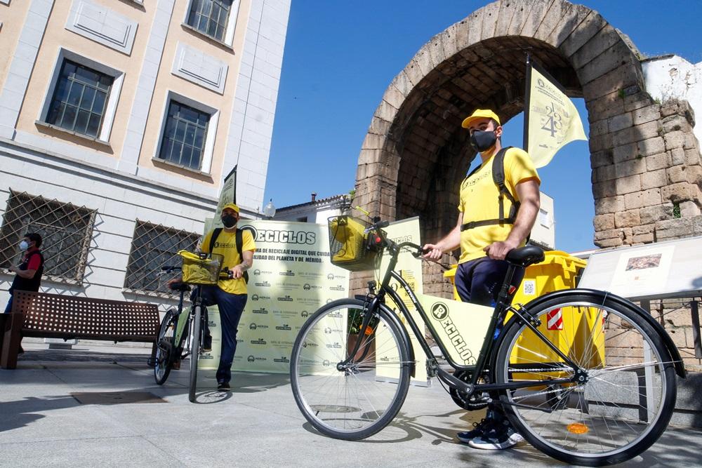 Mérida se convierte en la primera ciudad de Extremadura en ofrecer recompensas por el reciclaje