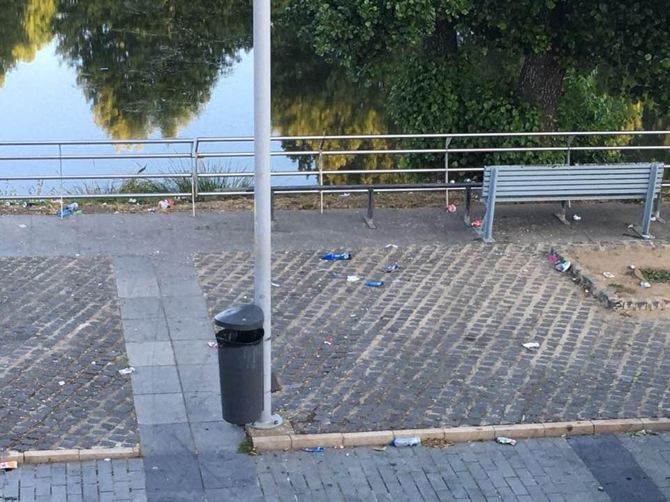 El alcalde de Moraleja apela al civismo para mantener limpio el entorno de la Rivera de Gata