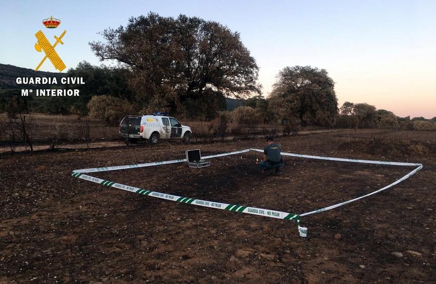 Dos agricultores de Peñalsordo y Navalvillar de Pela provocan sendos incendios forestales