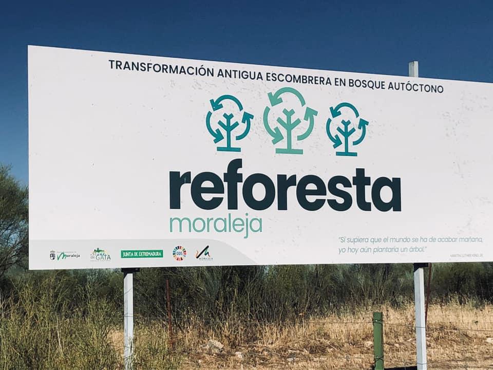 El Ayuntamiento de Moraleja transformará la antigua escombrera en un bosque autóctono